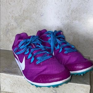 Nike Rival D Racing Flats Track Spikes Cleats